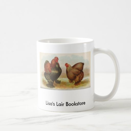 Graham - Partridge Cochin Chickens Bookstore Promo Classic White Coffee Mug
