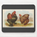 Graham - Partridge Cochin Chickens Mouse Mat