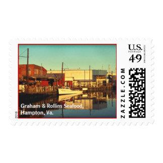 Graham & Rollins Seafood, Hampt... Stamps