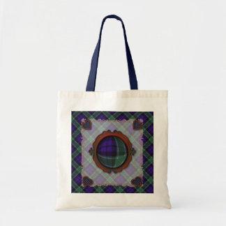 Graham Scottish clan tartan - Plaid Bags