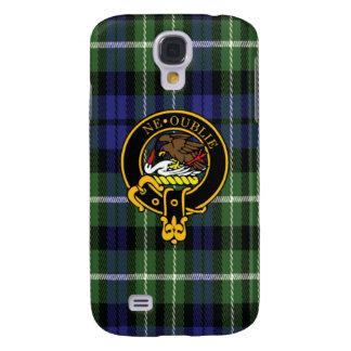 Graham Scottish Crest and Tartan Samsung Case