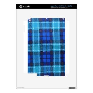 GRAHAM SCOTTISH FAMILY TARTAN iPad 3 SKINS