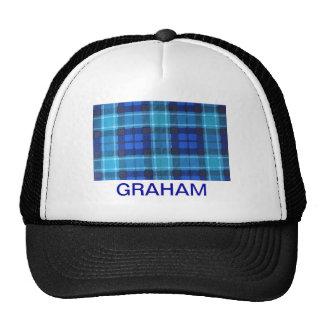 GRAHAM SCOTTISH FAMILY TARTAN TRUCKER HAT