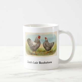 Graham - Silver Laced Wyandotte Chickens Coffee Mugs