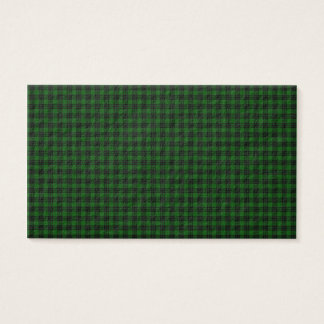 Graham Tartan Business Card