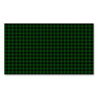 Graham Tartan Magnetic Business Card