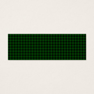 Graham Tartan Mini Business Card