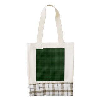 Graham Tartan Zazzle HEART Tote Bag