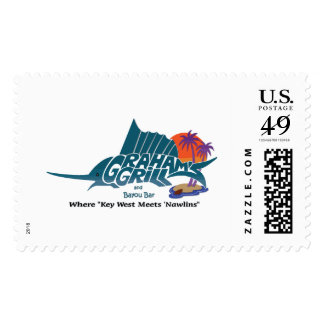 Graham's Grill Postage Stamp
