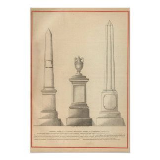 Graham's Marble and Granite Monument Works Posters