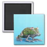 Grahamstown, Eastern Cape Province, South Africa 2 Inch Square Magnet