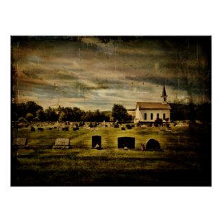 Grahamsville reformó la iglesia y el cementerio poster