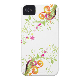 grahic floral iphone case