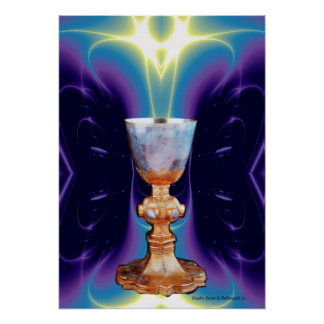 GRAIL / CHALICE OF HOLY MASS POSTER