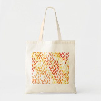 grain and wheat harvest pattern tote bag