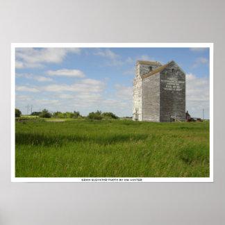 Grain Elevator Print Manitoba Landscape Prints