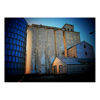 Grain Elevators Profile Card Large Business Cards (Pack Of 100)