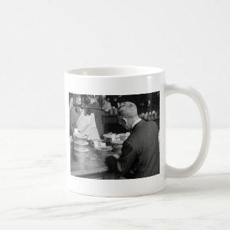 Grain Exchange, 1930s Classic White Coffee Mug