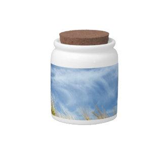 Grain field candy jar