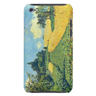 Grain fields on the hills of Argenteuil by Sisley iPod Touch Case-Mate Case