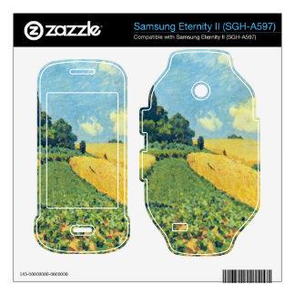 Grain fields on the hills of Argenteuil by Sisley Samsung Eternity II Skin