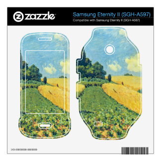 Grain fields on the hills of Argenteuil by Sisley Samsung Eternity II Decal