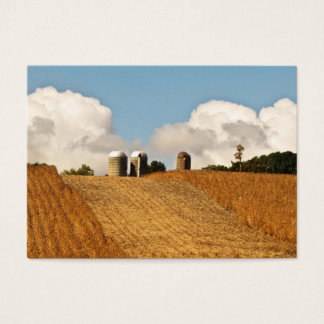 Grain Harvest ATC Business Card