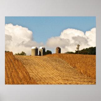 Grain Harvest Poster