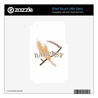 Grain Harvest Skin For iPod Touch 4G