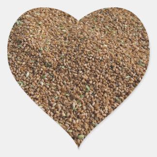 Grain Heart Sticker