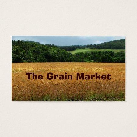 Wheat Grain Farming Business Cards