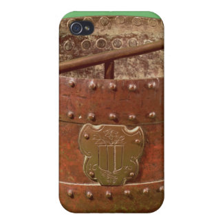 Grain measure with the Senlis coat of arms 1630 iPhone 4 Covers