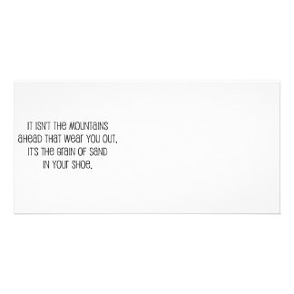 """Grain of sand"" quote design Card"