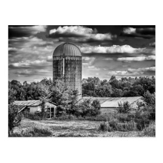 Grain Silo - Temple Hill, KY Postcard