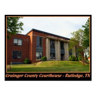Grainger County Courthouse - Rutledge, TN Postcard