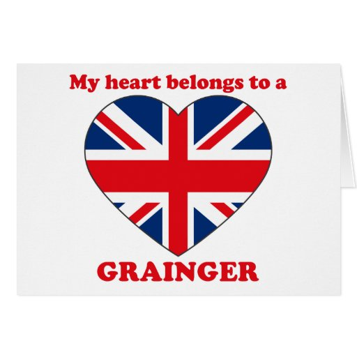 Grainger Felicitación