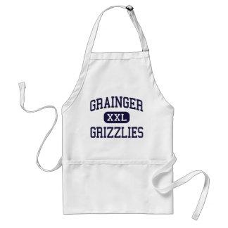 Grainger - grisáceos - alto - Rutledge Tennessee Delantal