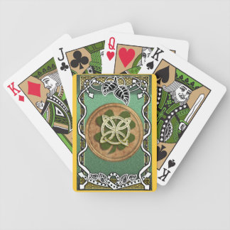 grainne nature clover bicycle playing cards