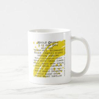 grains - eat healthy mug
