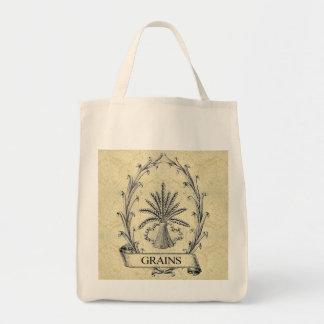 Grains Grocery Tote Bags