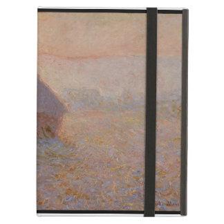 Grainstack, Sun en la niebla, 1891 (aceite en lona