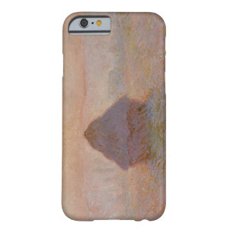 Grainstack, Sun in the Mist, 1891 (oil on canvas) Barely There iPhone 6 Case