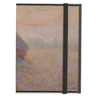 Grainstack, Sun in the Mist, 1891 (oil on canvas) iPad Air Case