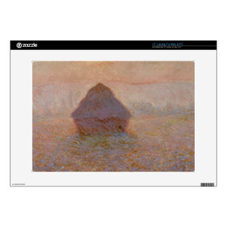 Grainstack, Sun in the Mist, 1891 (oil on canvas) Decals For Laptops