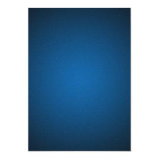 Grainy Blue-Black Vignette 5x7 Paper Invitation Card