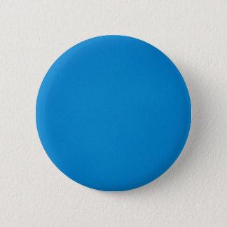 Grainy Bright Blue Background Pinback Button