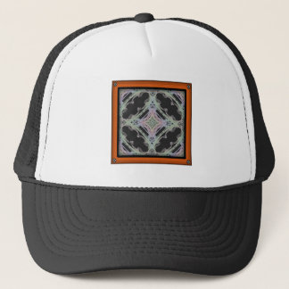 Grainy Elegant Design Inverted Trucker Hat