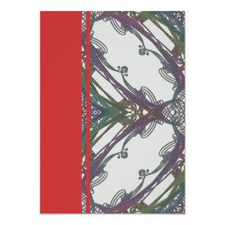 Grainy Elegant Design 5x7 Paper Invitation Card