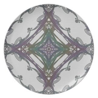 Grainy Elegant Design Plates