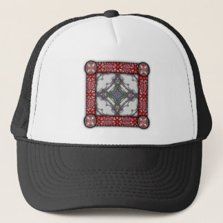 Grainy Elegant Design Trucker Hat